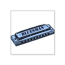Bluesman Rectangle Sticker