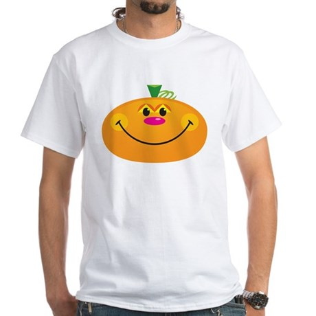 Pumpkin Fun: White T-Shirt