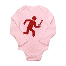 Rebel Long Sleeve Infant Bodysuit