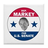 Edward Markey for Senate Tile Coaster