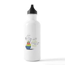 A Kitchen Water Bottle