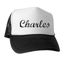 Vintage: Charles Trucker Hat