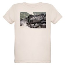 Just loco: Colorado steam train, USA, 3 T-Shirt
