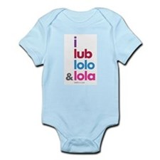 i lub lolo & lola Infant Bodysuit