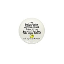 Lousy Smiley Mini Button (10 pack)