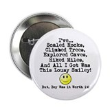 "Lousy Smiley 2.25"" Button"
