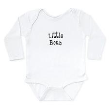 Little Bean-black Body Suit