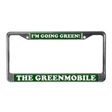 THE GREENMOBILE License Plate Frame