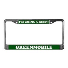 Greenmobile License Plate Frame