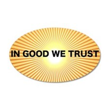 In Good We Trust Wall Decal