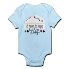 Playing Bridge Infant Bodysuit