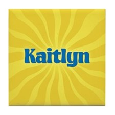 Kaitlyn Sunburst Tile Coaster
