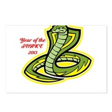 Year of the Snake 2013 Postcards (Package of 8)