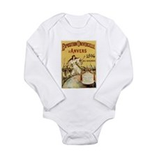 french poster Long Sleeve Infant Bodysuit