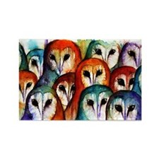 Owl Audience ~ Fridge Magnet