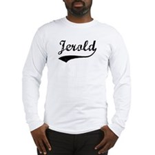 Vintage: Jerold Long Sleeve T-Shirt