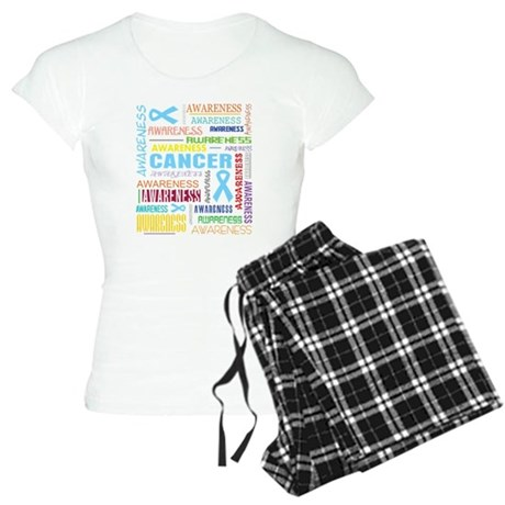 Prostate Cancer Awareness Collage Women's Light Pa