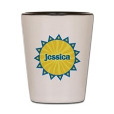 Jessica Sunburst Shot Glass