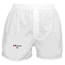 Cute Weiner Boxer Shorts