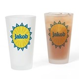 Jakob Sunburst Drinking Glass