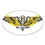 #21 Rectangle Decal