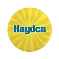 "Hayden Sunburst 3.5"" Button"