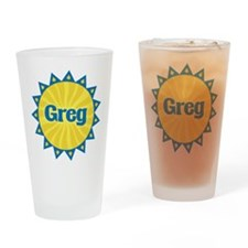 Greg Sunburst Drinking Glass