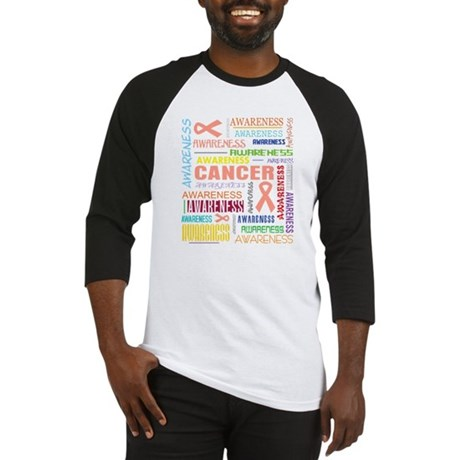 Endometrial Cancer Awareness Collage Baseball Jers