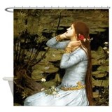 Waterhouse Ophelia Shower Curtain