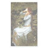 Waterhouse Ophelia Decal