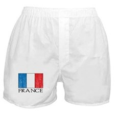 France Flag Boxer Shorts