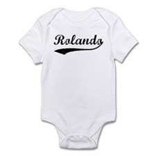 Vintage: Rolando Infant Bodysuit