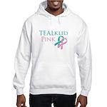 TEALkled Pink Hooded Sweatshirt