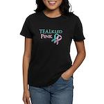 TEALkled Pink Women's Dark T-Shirt