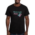 TEALkled Pink Men's Fitted T-Shirt (dark)