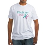 TEALkled Pink Fitted T-Shirt