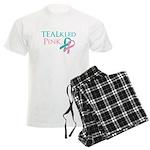 TEALkled Pink Men's Light Pajamas