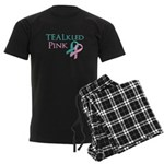 TEALkled Pink Men's Dark Pajamas