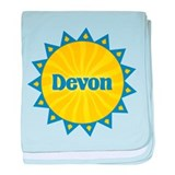 Devon Sunburst baby blanket