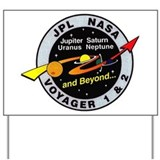 Voyager 1 & 2 Yard Sign