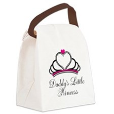 Daddys Little Princess Canvas Lunch Bag