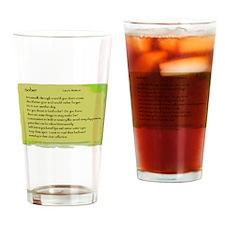 Unique Karawane Drinking Glass