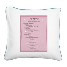 Cool Karawane Square Canvas Pillow