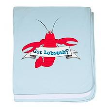 Got Lobstah baby blanket