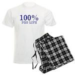 100% Pro life Men's Light Pajamas