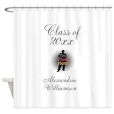 Graduation photo Shower Curtain