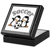 I Like Soccer (4) Keepsake Box