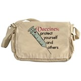 Protect Yourself Messenger Bag