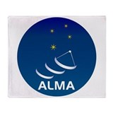 ALMA Throw Blanket