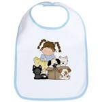 Puppy Dog Friends Bib